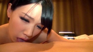 Japanese Short hair Nymph Hot Blowjob