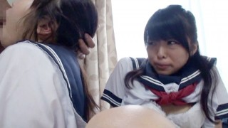 Japanese Uniformed Teens MMFF BlowJob
