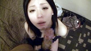 Japanese Tsundere Babe BlowJob