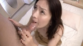 Japanese Beautiful MILF awaken Sex Drive via BlowJob